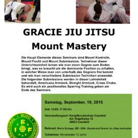 Lehrgang: Gracie Jiu Jitsu mit Mario Schapp