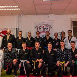 Gruppenbild Hapkido-Lehrgang 12.03.2016