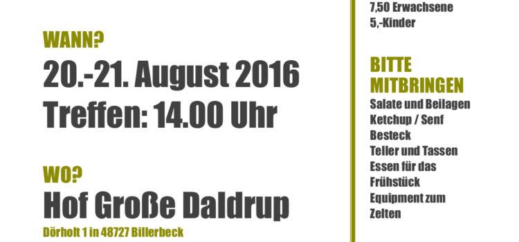 BTF: Sommerfest 2016