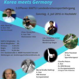 NWTU Breitensportlehrgang 3. Juli 2016