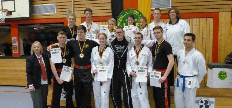 Baumberger Taekwondo Freunde räumen bei den Deutschen Meisterschaften ab!