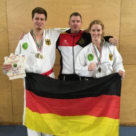 IBF EM 2017: Top-Erfolge für die Baumberger Taekwondo Freunde