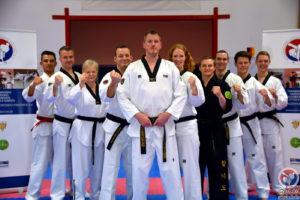 Trainer-Team Baumberger Taekwondo Freunde e.V., Stand Dezember 2017