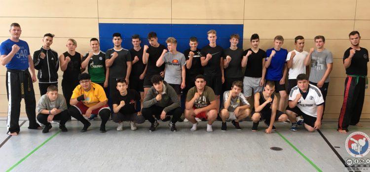 Respekt im Sport: Training an der Kreuzschule Coesfeld