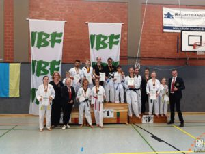 Gruppenbild IBF German Open 2019