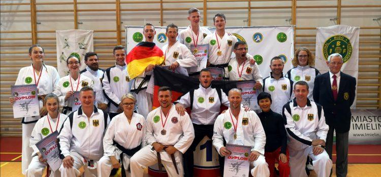 Baumberger Taekwondo Freunde feiern riesige Erfolge in Polen