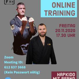 Online-Training, Runde 2 (Update)